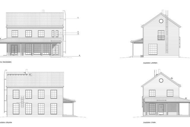 Rakennusprojekti  Talo Taika