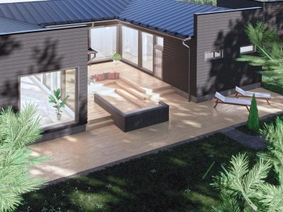 Musta puutalo Kaarinassa - Teri-Talot