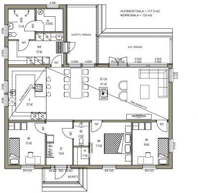 J-014 / 117,5 m2 - Teri-Talot