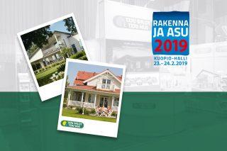Kuopion Rakenna ja Asu messut 2019