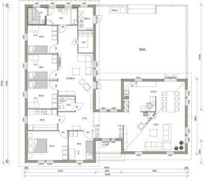 L-14010 / 194 m² - Teri-Talot