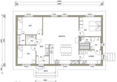L-16023 / 107 m² - Teri-Talot
