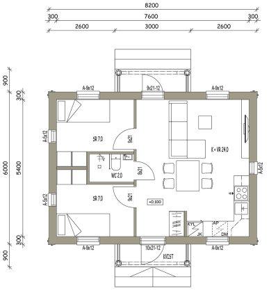 L-17048 / 41 m2 - Teri-Talot
