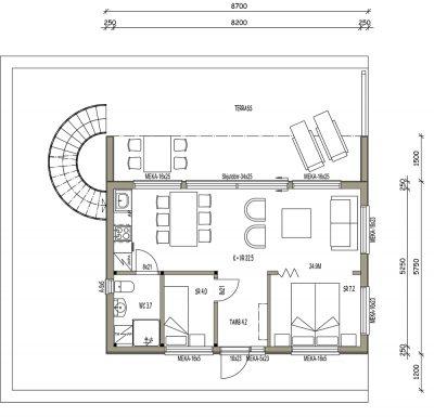 L-17194 / 43 m2 - Teri-Talot