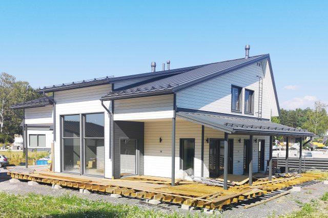 Taloesittely Kaarinassa 1.8.2018