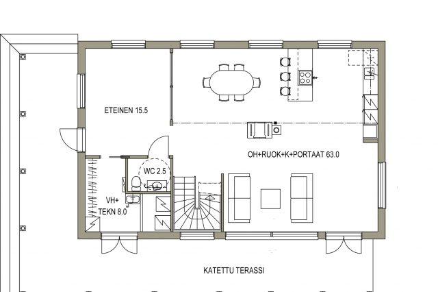 Ajatuksia uuden kotimme pohjaratkaisusta!