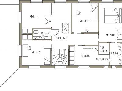 Käytännölliset neliöt - Teri-Talot