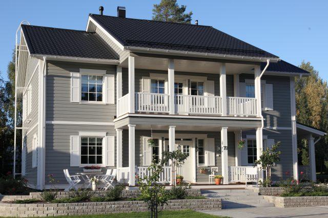 Yksi- vai kaksikerroksinen talo?
